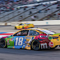 Kyle Busch Coming Into The Pits by Paul Quinn
