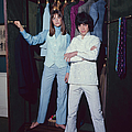 L-r Actress Jane Birkin And Pop-singer by Bill Ray