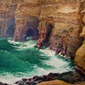 La Jolla Caves by Guy Rose