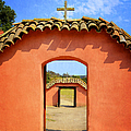 La Purisima Mission - Two Crosses by Glenn McCarthy Art and Photography