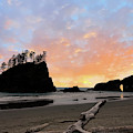 La Push Special Sunset by Rick Lawler