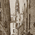 La Rue Des Chantres, Paris Chantrey Street, Paris France. Charle by California Views Archives Mr Pat Hathaway Archives