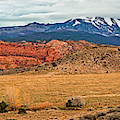 La Sal Mountains by Andy Crawford