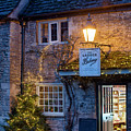 Lacock Bakery At Christmas Time by Tim Gainey