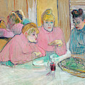Ladies In The Refectory by Henri de Toulouse-Lautrec