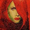 Lady In Red by Qasir Z Khan