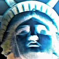 Lady Liberty In Negative by Rob Hans