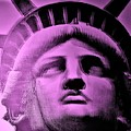 Lady Liberty In Pink by Rob Hans