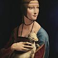 Lady With An Ermine, 1489 by Leonardo da Vinci