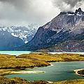 Laguna Larga, Lago Nordernskjoeld, Cuernos Del Paine, Torres Del Paine, Chile by Lyl Dil Creations