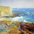 Laguna Rocks Low Tide 1916 by Guy Rose