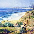 Laguna Shores 1916 by Guy Rose