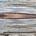 Lake Abert Reflections by Leland D Howard