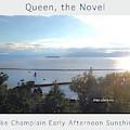 Lake Champlain Early Afternoon Sunshine Enhanced Poster by Felipe Adan Lerma