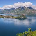 Lake Como Italy Hike by Joan Carroll