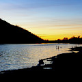Lake Cuyamaca Sunset by Anthony Jones
