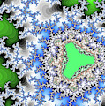 Lake Grand Green Fractal Art by Don Northup