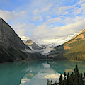 Lake Louise At Dawn by Paula Guttilla