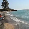 Lake Michigan Frankfort Mi by Melvin Busch