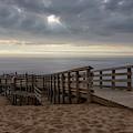 Lake Michigan Overlook 6 by Heather Kenward