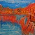 Lake Mirror by Stanley Morganstein