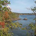 Lake Superior Autumn by John M Bailey