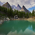 Lake Verde In The Alps II by Jon Glaser