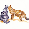 L'amour - Cats In Love by Debra Hall