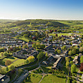 Lampeter From The Air by Keith Morris