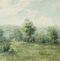 Landscape, 1845-1894 by George Inness