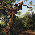 Landscape After A. Van Everdingen by Leonid Polotsky