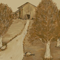 Landscape In Brown by Kae Cheatham