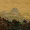 Landscape - Remembrance Of Brazil by Prilidiano Pueyrredon