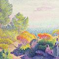 Landscape With Two Women, 1895  by Henri-Edmond Cross