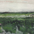 Landscape With Wheelbarrow, 1883  by Vincent Van Gogh