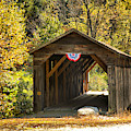 Langdon New Hampshire Covered Bridge by Adam Jewell