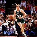 Larry Bird Drives by Bill Baptist