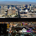 Las Vegas Night And Day Work A by David Lee Thompson