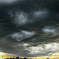 Late Afternoon Nebraska Thunderstorms 025 by Dale Kaminski