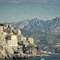Late Afternoon On The Amalfi Coast by Mary Machare