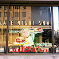 Late Night Snacks At Lindy's New York City by John Rizzuto
