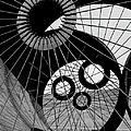Lattice Like Support Struts Inside by Margaret Bourke-white