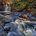 Lawrence Brook And Doane's Falls by Kristen Wilkinson