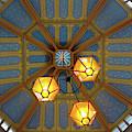 Leadenhall Market Ceiling by Michael Gerbino