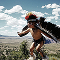 Learning The Eagle Dance In Grand Canyon by Michael Ochs Archives