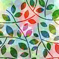 Leaves Colorplay by Lutz Baar