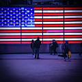 Led American Flag by Michael Gerbino