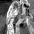 Led Zep The Gods Of Rock by David Lloyd Glover