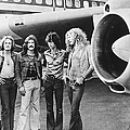 Led Zeppelin With Jet by Hulton Archive