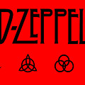 Led Zeppelin Z O S O - Transparent T-shirt Background by Daniel Hagerman